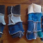 Mittens upcycled