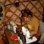 Starting making yurtcovers in 2003